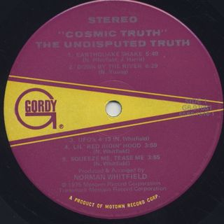 Undisputed Truth / Cosmic Truth label