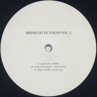 V.A. / Midnight In Tokyo Vol.2 label