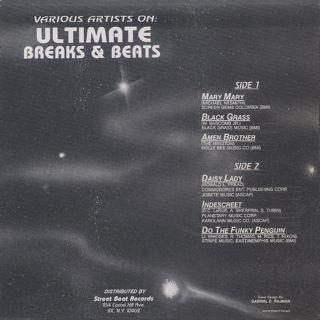 V.A. / Ultimate Breaks & Beats (501) back