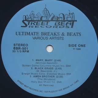 V.A. / Ultimate Breaks & Beats (501) label