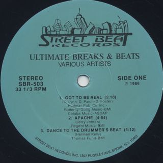 V.A. / Ultimate Breaks & Beats (503) label