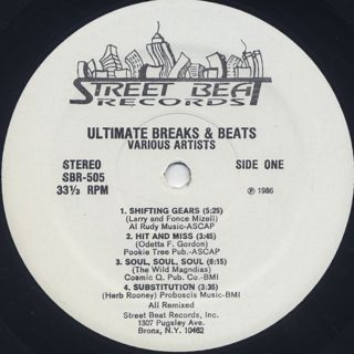 V.A. / Ultimate Breaks & Beats (505) label