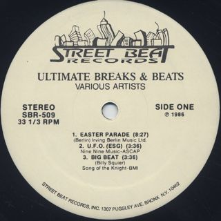 V.A. / Ultimate Breaks & Beats (509) label