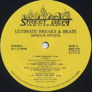 V.A. / Ultimate Breaks & Beats (510) label