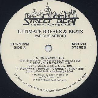 V.A. / Ultimate Breaks & Beats (513) label