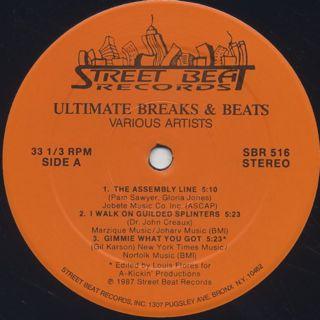 V.A. / Ultimate Breaks & Beats (516) label