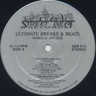 V.A. / Ultimate Breaks & Beats (519) label