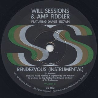 Will Sessions & Amp Fiddler / Rendezvous back