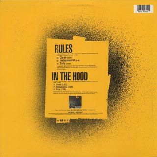 Wu-Tang Clan / Rules back