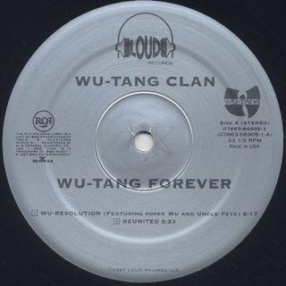 Wu-Tang Clan / Wu-Tang Forever label