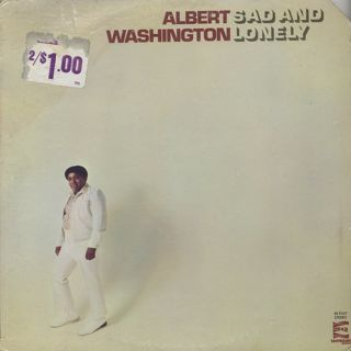 Albert Washington / Sad And Lonely front