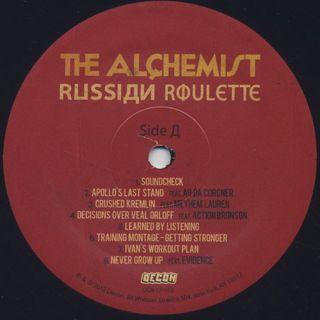 Alchemist / Russian Roulette label