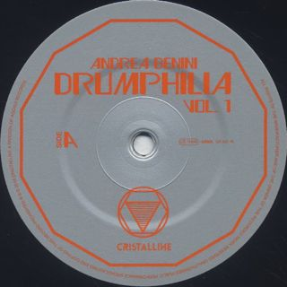 Andrea Benini / Drumphilia Vol.1 label
