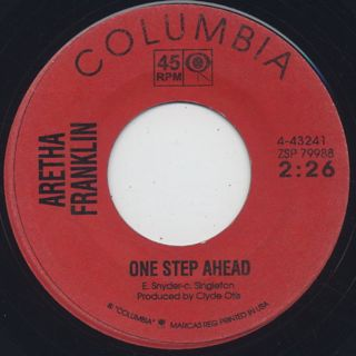 Aretha Franklin / One Step Ahead front