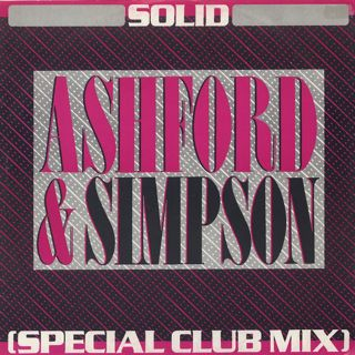 Ashford & Simpson / Solid (Special Club Mix) front