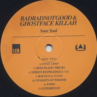 BadBadNotGood / Sour Soul label