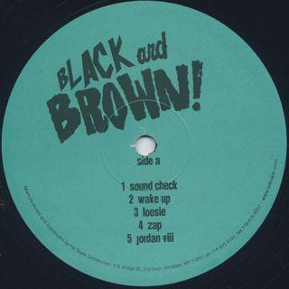 Black Milk & Danny Brown / Black And Brown! label