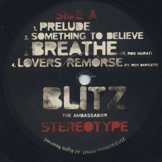 Blitz The Ambassador / Stereotype label