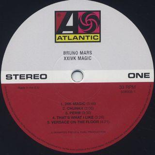Bruno Mars / XXIVK Magic label