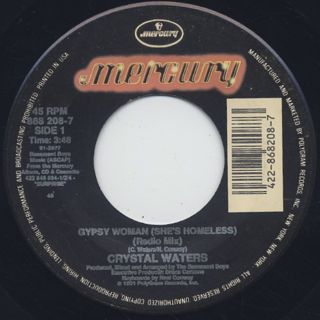 Crystal Waters / Gypsy Woman (She's Homeless) (7