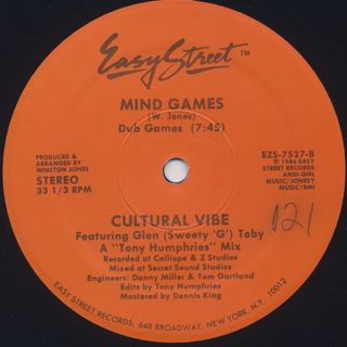 Cultural Vibe / Mind Games back