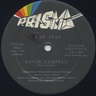 David Lampell / I Ran Iran back
