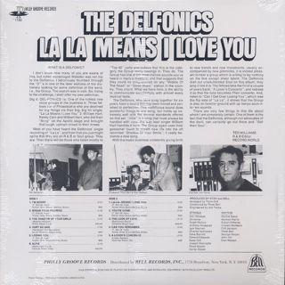 Delfonics / La La Means I Love You (180g) back