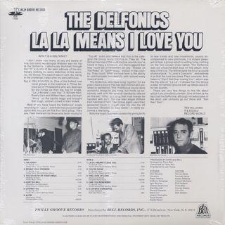 Delfonics / La La Means I Love You back