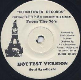 Dennis Brown / Some Like Hot back
