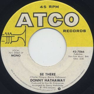 Donny Hathaway / This Christmas (EX-) back