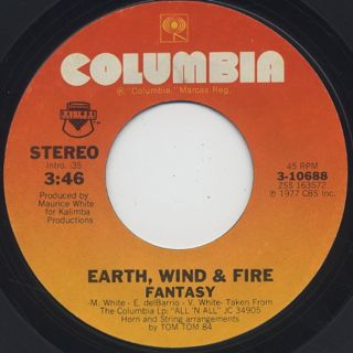 Earth, Wind & Fire / Fantasy c/w Runnin'