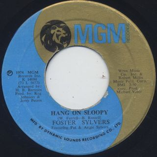 Foster Sylvers / Na Na Hey Hey Kiss Him Goodbye back