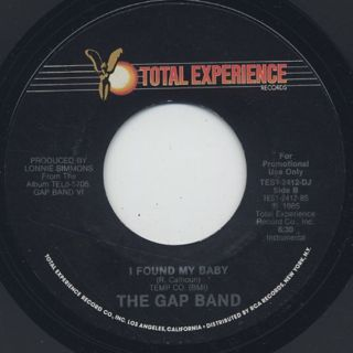 Gap Band / I Found My Baby (7