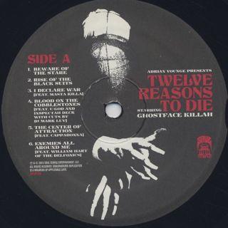 Ghostface Killah & Adrian Younge / Twelve Reasons To Die label