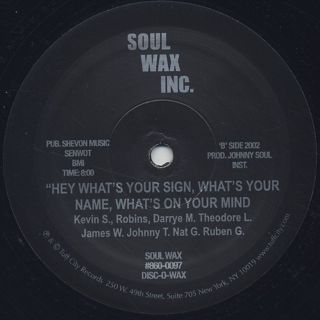 Grand Wizard Theodore & The Fantastic Ronmatic Five / Can I Get A Soul Clapp back