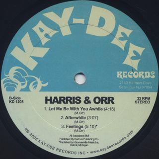 Harris & Orr / A Piece Of Mine back