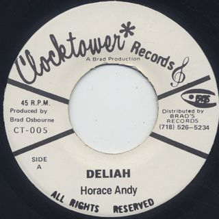 Horace Andy / Deliah front