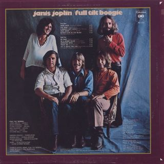 Janis Joplin / Pearl back