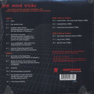 Jedi Mind Tricks / The Psycho-Social, Chemical, Biological, And Electro-Magnetic Manipulation Of Human Consciousness back