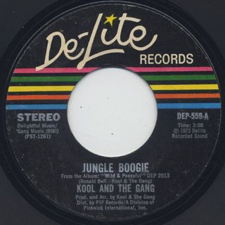 Kool and The Gang / Jungle Boogie c/w North, East, South, West