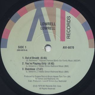 Lowrell / S.T. label