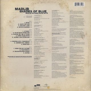 Madlib / Shades Of Blue (2LP) back