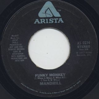 Mandrill / Funky Monkey c/w Gilly Hines