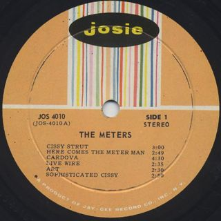 Meters / S.T. label