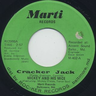 Mickey And His Mice / Cracker Jack c/w Abraham, Martin And John front
