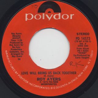 Roy Ayers / Love Will Bring Us Back Together c/w Leo