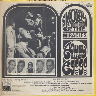 Smokey Robinson & The Miracles / Away We A go Go back