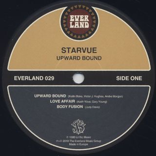 Starvue / Upward Bound label