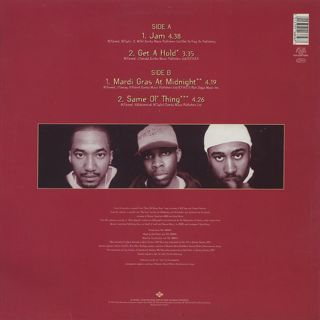 A Tribe Called Quest / The Jam EP back