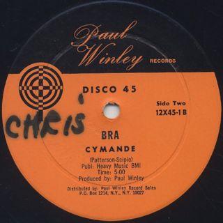 Ann Winley / Back Up Push Baby c/w Cymande / Bra